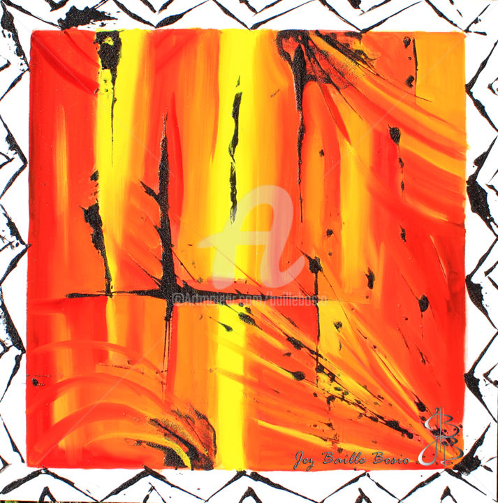 Jez BB - Volcan - Lava Flow Jaune