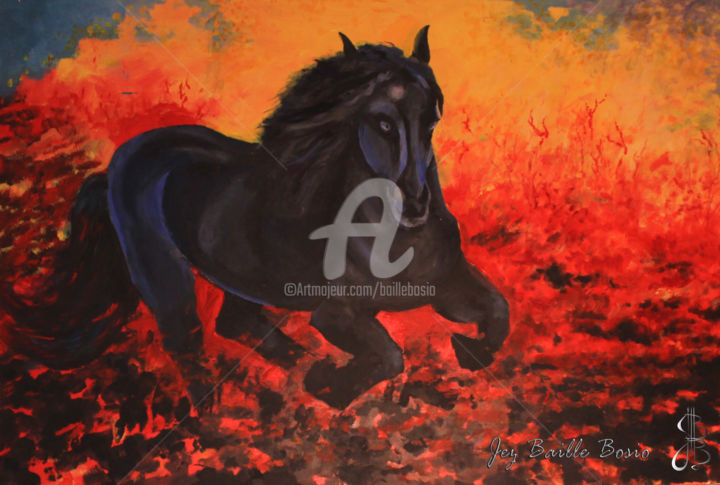 Jez BB - Le cheval de feu